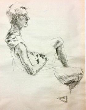 Figure, Charcoal