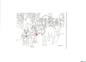 Christmas card collection 1983