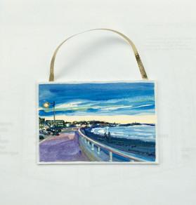 Nantasket Boardwalk, Acrylic