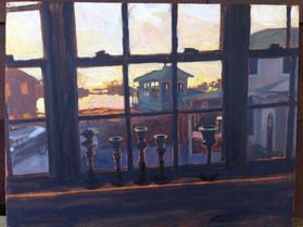 Window on the Weir, Oil