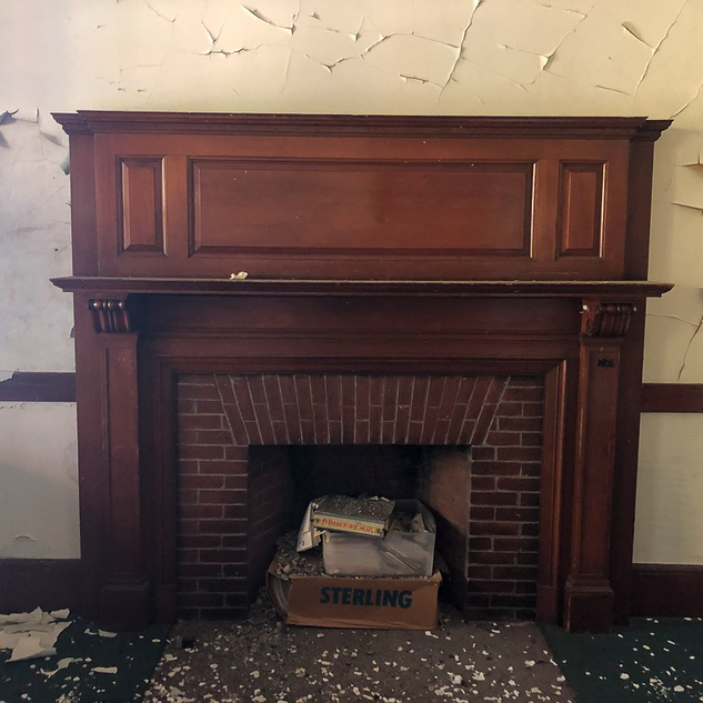 Office Fireplace