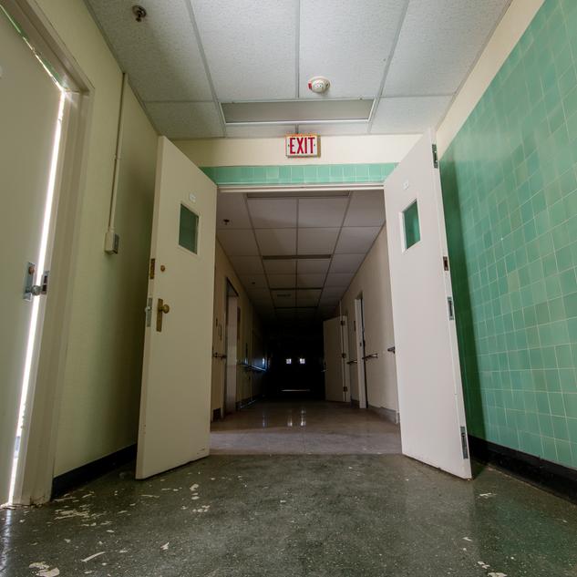 Physically Ill Ward Hallway
