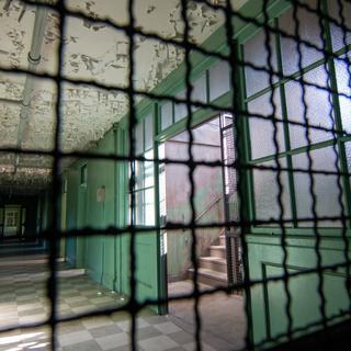Male Nurse Dorm Cage