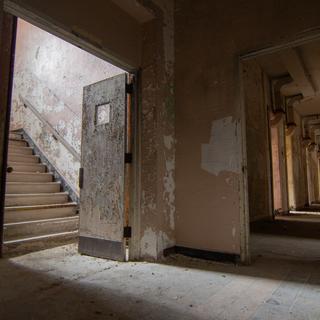 Excited Female Ward Hallway