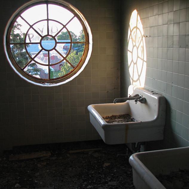 Medical Building Bathroom sinks