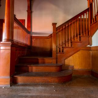 Superintendent House Main Stairway