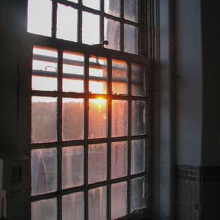 Sunset Window from Medical Building