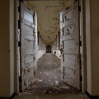 Hallway to Admin from Wards