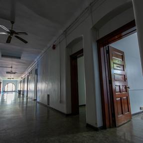 Female Convalescent Building Patient Hallway