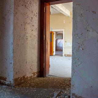 Room looking into Ward Hallway