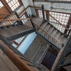 Violent Female Ward, Ricer Building, Stairway