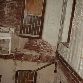 Colapsed Bathroom