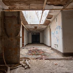 4th Floor North Wing Hallway