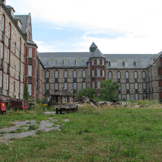 Back of Male Ward Lincoln