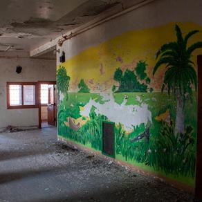 Patient Artwork in Ward