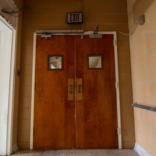 Lab Building Doors