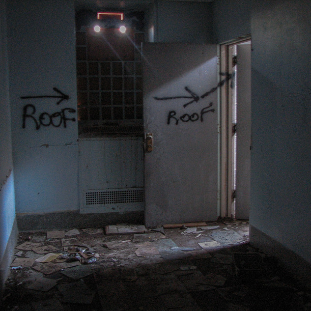 Hallway to Roof