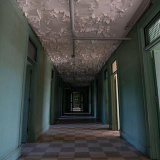 Male Nurse Dorm Hallway