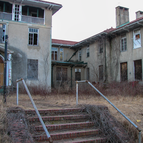 Front side of Hospital