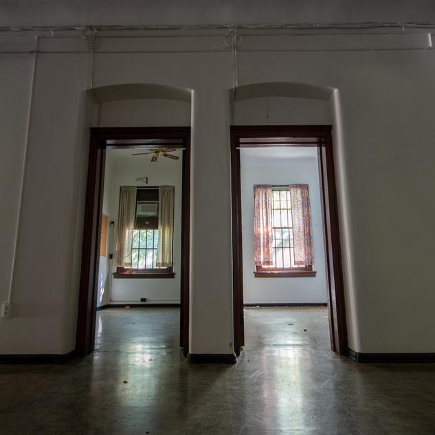 Female Convalescent Building Patient Rooms