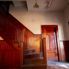 Superintendent House Stairway