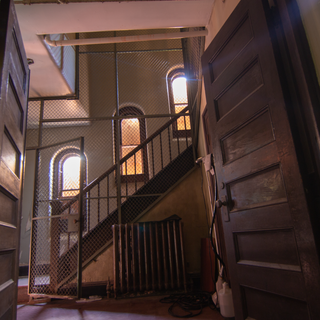 Lee Chapel Staircase