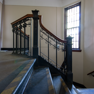 Female Convalescent Building Stairwell