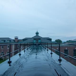 Rooftop Looking at Eastside of Hospital
