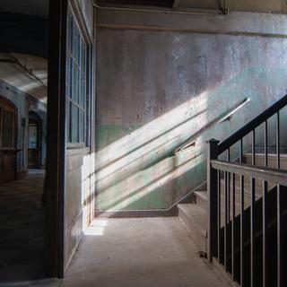 Male Nurse Dorm Hallway/Staircase (West Hall)