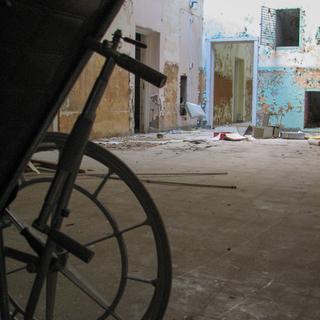 Wheel Chair in Classroom