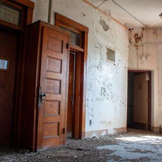 End Hallway of Ward