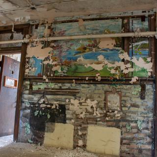 Patient Artwork in Criminally Insane Ward
