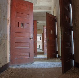 Brigham Building Patient Hallway