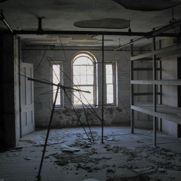 Attic in Brown Infirmary