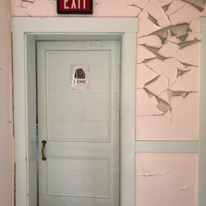 Lions Ward Door