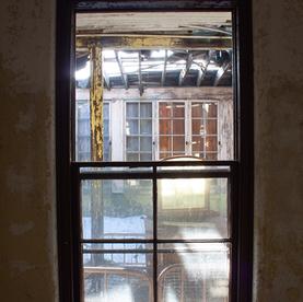 Eagle Building Window Porch