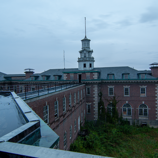 Rooftop looking at Admin