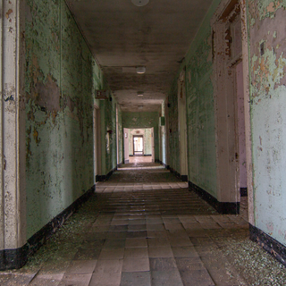 Excited Male Ward Hallway