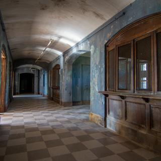 Male Nurse Dorm Hallway (West Hall)