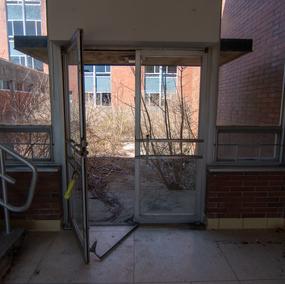 Court Yard Door