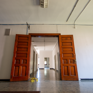 Female Convalescent Building Patient Hallway to Day room