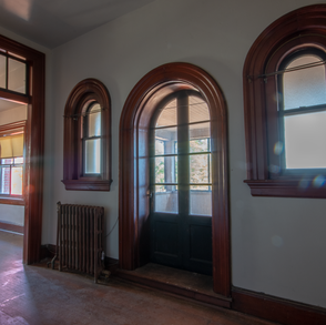 Superitendent House Porch Door