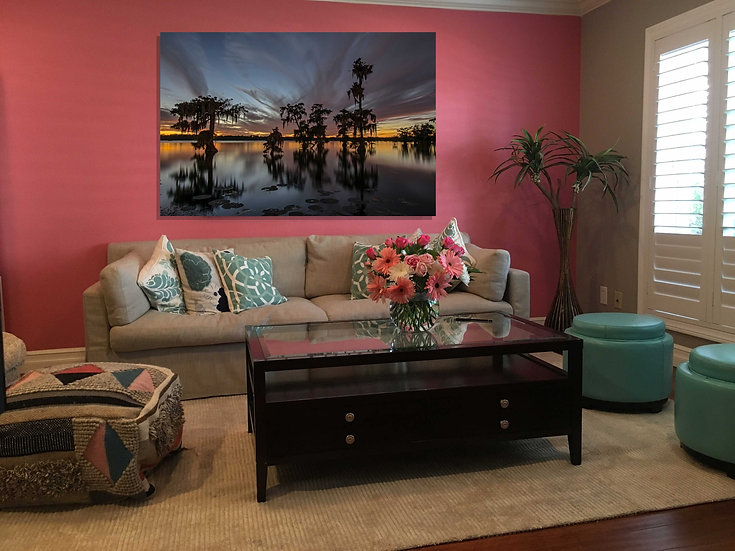 """Sweet serenity"" printed photo canvas"
