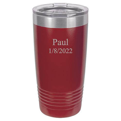 20 oz. Polar Camel Cup Red