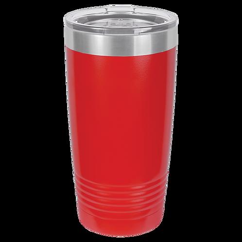 16oz. Pint Polar Camel Cup Red