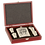Thumbnail: 6 oz.  Flask Gift Set With Rosewood Case