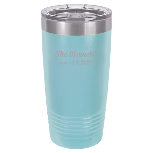 20 oz. Polar Camel Cup Light Blue