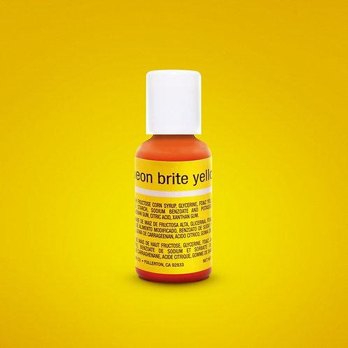 Neon Brite Yellow Liqua-Gel Food Coloring