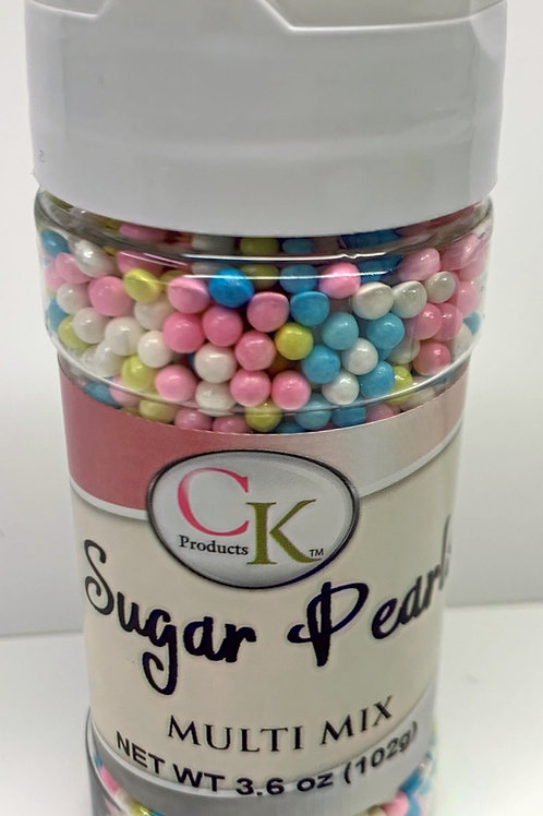 Sugar Pearls Multi Mix 3.6 oz