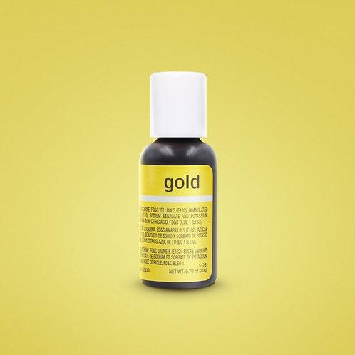 Gold Liqua-Gel Food Coloring 20ml